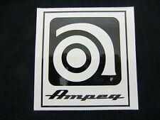 AMPEG BASS GUITAR AMPLIFIER STICKER DECAL CASE RACK BUMPER STICKER NEW