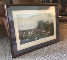 'Sir Richard Sutton and the Quorn Hounds' Print Engraved by Frederick Bromley