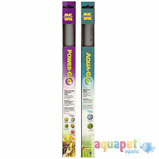 Power-GLO T8,15W Linear Fluorescent Aquarium Bulb with Free Aqua-GLO T8,15W