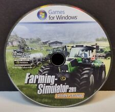 Farming Simulator PLATIMUM 2011 (PC, 2011) DISC ONLY