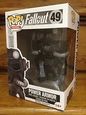 Funko Pop! Fallout Power Armor Black Friday Gamestop #49 Esclusivo Figura in vinile