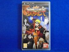psp NARUTO SHIPPUDEN Ultimate Ninja Impact Playstation PAL REGION FREE