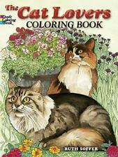 The Lovely Cats Coloring Book Adult Color effective fun-filled way relax reduce