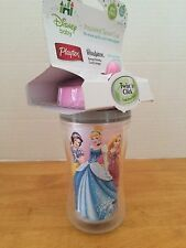 Playtex Insulated Twist Click Spout 9 oz SIPPY CUP Disney Princess Snow white