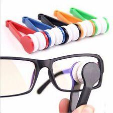 Mini Brillenreiniger Brille Reinigung Brillenputztuch Microfaser Zangenform