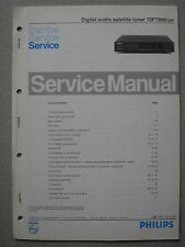 Philips 70 ft990/00r Digital Audio satellite tuner service manual
