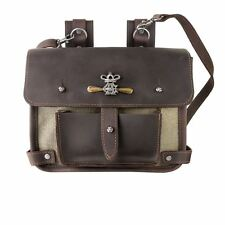 Alchemy Gothic Wing Commander's Attache Steampunk Leather Belt Pouch Hand Bag