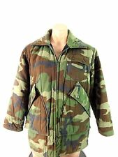 CHILLER KILLER MENS WOODLAND CAMO INSULATED HUNTING JACKET SIZE M