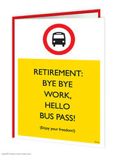 Brainbox Candy Retirement Greeting Card funny novelty cheeky joke humour blank