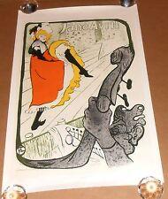Jane Avril Poster Vintage 30x20