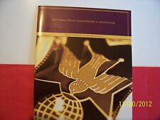 "KNIGHTS OF COLUMBUS - Book - 4th Degree ""Program Manual"""