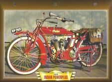 CARTE FICHE MOTO INDIAN POWERPLUS 1916