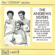THE CREAM SERIES The Andrews Sisters FLAPPER PAST CD 9766  [CD]
