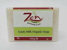ZEN GOATSMILK SOAP ORGANIC Pk10  moisturising wash 1st cold compress virgin oil