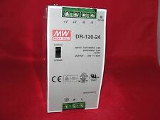 Mean Well DR-120-24 Power Supply 100-120VAC