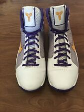 RARE�� Nike Hyperdunk Kobe Supreme Lakers Gold White Purple Sz Ovo Kb24 KB
