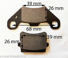 BP026 SET OF BRAKE PADS FRONT / REAR 150CC 200CC I-GO UTILITY FARM QUAD BIKE ATV