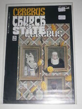 Cerebus Church & State #21 VF Aardvarkvanaheim Nov 1991