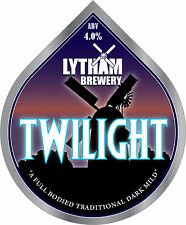 Framed Print - Real Ale Pump Clip Twilight Lytham Brewery (Picture CAMRA Beer)