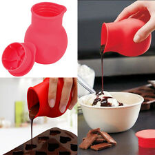 Soft Practical Silicone Chocolate Melting Pot Mould Butter Sauce Baking Pouring