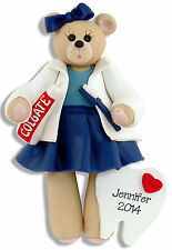 DENTAL HYGIENIST Personalized  Ornament by HANDMADE POLYMER CLAY by Deb & Co.