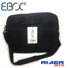 "LAPTOP BASIC BAG 15.6"" WATERPROOF BLACK STRAP COMPUTER TRAVEL CARRY LUGGAGE FL5"