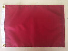 "Protest Red Indoor Outdoor Nylon Wall Boat Flag Grommets 10"" X 15"""