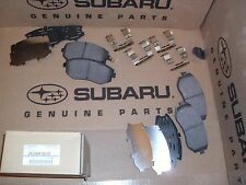 Genuine OEM Subaru Legacy and Outback Front Brake Pad Set 1999-2012 (26296FG010)