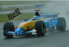 Allan McNish Hand Signed Mild Seven Renault 12x8 Photo F1.