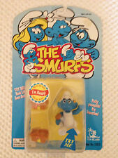 Handy Smurf - Poseable Figure - Toy Island - 1996 - Asst. No. 13010 - Unopened