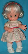 1960 Vintage Vinyl FURGA TODDLER DOLL from Italy