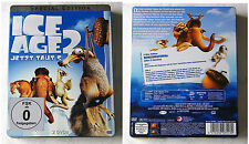 ICE AGE 2 / Jetzt taut´s .. Special Edition Steel Book Doppel-DVD TOP