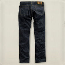 Double RL, RRL, slim fit jean, once washed, dark blue, selvedge denim, s. 32, 33