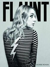 Flaunt Magazine Mag Saoirse Ronan Brooklyn Rowan Blanchard