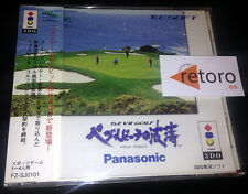 T&E VR Golf Pebble Beach Panasonic 3DO Japones Muy Buen Estado FZ-SJ0101