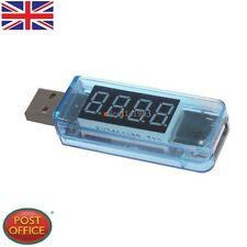 NEW 0.4inch LED 4-Digit Red Display USB Power Charger Voltage Current Tester