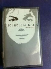 MICHAEL JACKSON MJ INVINCIBLE RARE CASSETTE INDIA