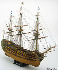 "Beautiful, High Quality Wooden Model Ship Kit by Mamoli: the ""Royal Louis"""