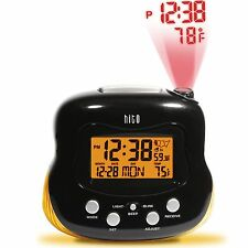 HITO Atomic Radio Controlled Projection Alarm Clock w/ Multi-function Display...