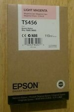 03-2018 New Genuine Epson T5456 110ml Light Magenta Ink for Stylus Pro 7600 9600