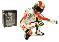 Minichamps MotoGP 2011 Marco Simoncelli Riding 'Hanging Off' Figurine 1/12 Scale