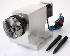 Gapless Harmonic CNC Rotary Axis A-Axis 4th-Axis 50MM Chuck Reducing Gear Box