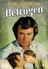 BETROGEN -  DVD NEUWARE CLINT EASTWOOD,GERALDINE PAGE,ELIZABETH HARTMAN