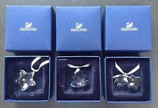 SALE Swarovski Christmas Ornaments Set (Comet,Bell, Star) MINT IN BOX !!