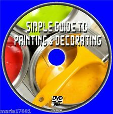 PAINT + HANG WALLPAPER DECORATING FOR BEGINNERS HOME DECOR TUITION DIY DVD NEW