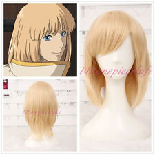 Anime Howl's Moving Castle Short Cosplay Wig CC40+ a wig cap