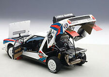 Autoart LANCIA DELTA S4 MARTINI RALLY WINNER ARGENTINA 1986 #5 1/18 In Stock New