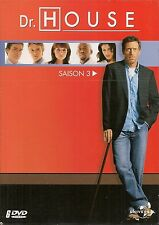 COFFRET 6 DVD ZONE 2--SERIE TV--DR.HOUSE - INTEGRALE SAISON 3 / 24 EPISODES-NEUF