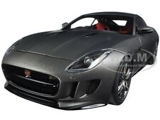 2015 JAGUAR F-TYPE R COUPE MATT GREY 1/18 MODEL CAR BY AUTOART 73654