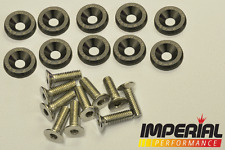 PASSWORD JDM Fender Washers GREY x10 Honda Civic Integra CRX Type R EK9 EP3 DC2